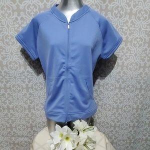 Womens Golf Jacket Nike Dri Fit UV Size XL
